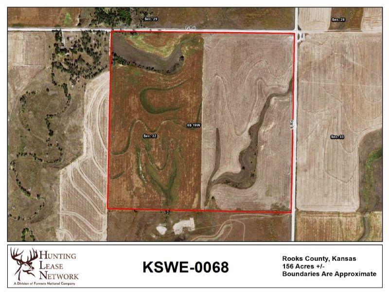 Kansas Recreational Land for Lease