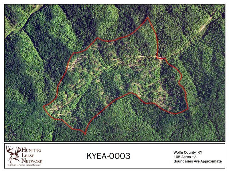 Kentucky Recreational Land for Lease
