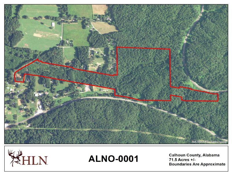 Alabama Recreational Land for Lease
